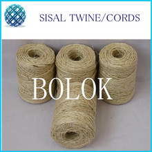 3pcs/lot total 240m Twisted sisal twine string (dia.: 1.5mm)  80m/spool sisal rope used in cat wholesales(China (Mainland))