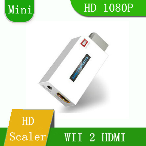 Free Shipping LENKENG LKV6000MINI WII To HDMI HD Converter WII2HDMI HD 1080P Adapter For HDTV<br><br>Aliexpress