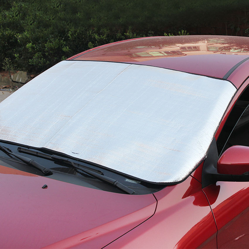 brand new Car Pearl Cotton Sun Heat Insulation Sunshade Front Rise Sun Visors Automobile Front Windshield Cover Car Styling(China (Mainland))