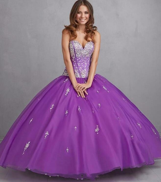 popular purple ball gownsbuy cheap purple ball gowns lots