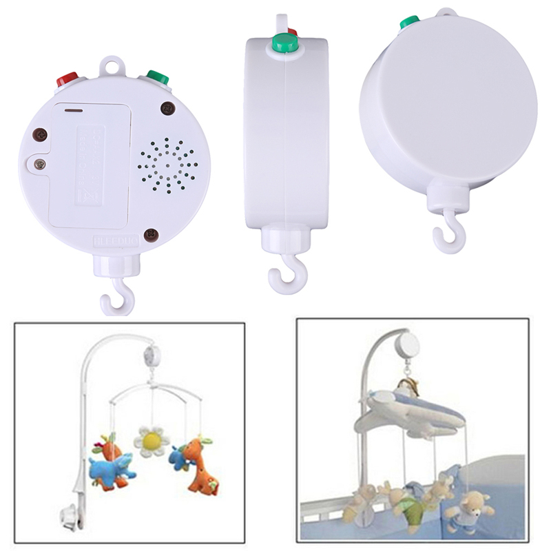 35 Songs Rotary Baby Mobile Crib Bed Bell Toy Battery-operated Music Box Newborn Bell Crib Baby Toys(China (Mainland))