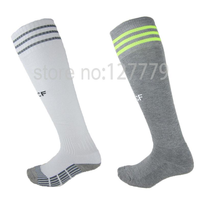 La Liga 2016 clubs soccer socks 2015/16 Men's sock chelsea milan football socks male sport knee long stockings medias de futbol(China (Mainland))