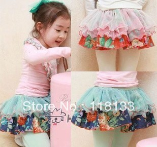 2013- girl tutu skirt sweetcolour colourgauze skirt veil skirt culottes girl leggings baby pantskirt