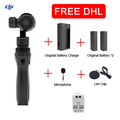 100% Original DJI Osmo with Sport Accessory Kit DJI OSMO Handheld 4K Camera With Original phantom 3 3-Axis Gimbal DHL EMS Free