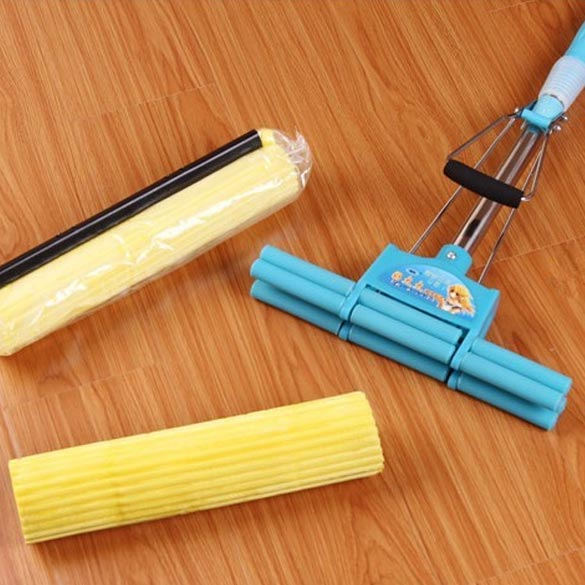 2pcs Household Sponge Mop Head Refill Replacement Home Floor Cleaning Tool SS(China (Mainland))
