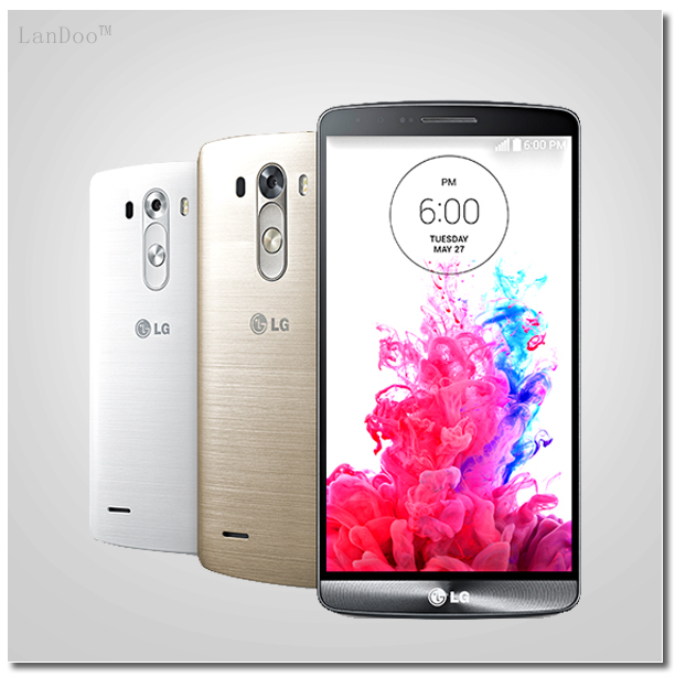 """Original LG G3 D850 D855 Unlocked 5.5""""Full HD Quad-Core 2G RAM 16G ROM 13MP Android OS 4.4 Cell Phone Refurbished(China (Mainland))"""