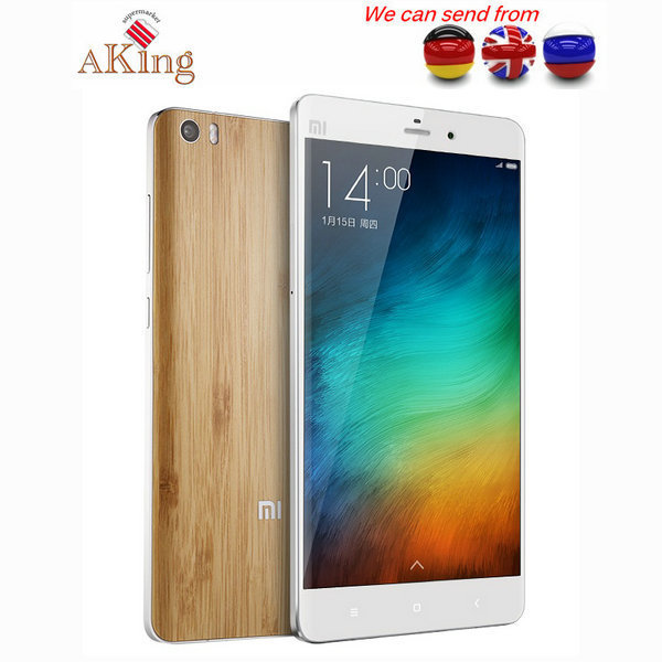 """From UK or Germany or CHINA Xiaomi Mi Note 4G LTE 5.7"""" Qualcomm Snapdragon 801 Quad Core 3GB RAM 13.0MP MIUI V6 Cell phone(China (Mainland))"""