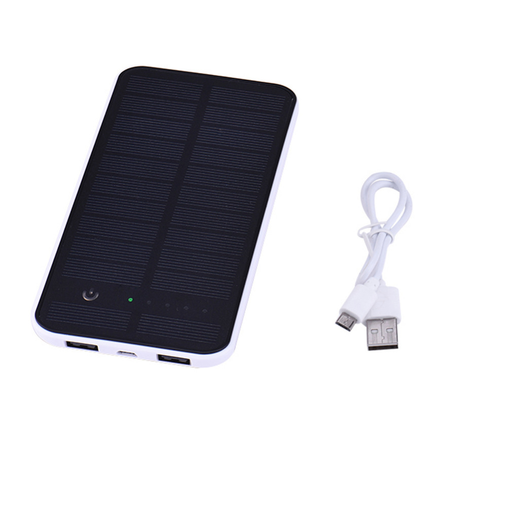 Sungzu Touch Screen Solar Power Bank 10000mAh Mobile Battery Charger Bateria Externa Dual USB Powerbank for Iphone 5s 6 6s(China (Mainland))