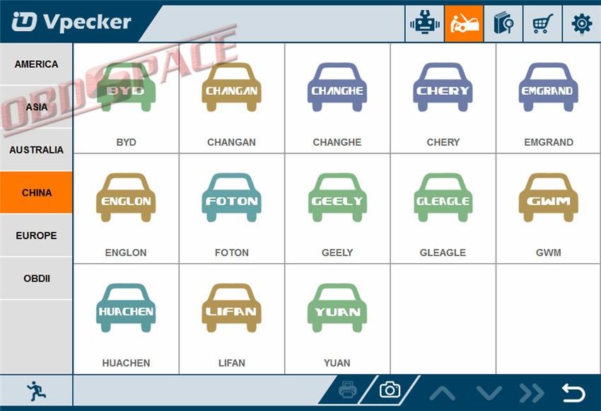 Купить 2016 Последним Vpecker Easydiag V8.5 OBD2 Диагностический инструмент Автомобильной Сканер Автомобиля Диагностический Инструмент + Winfows 10 Планшет Профессиональный