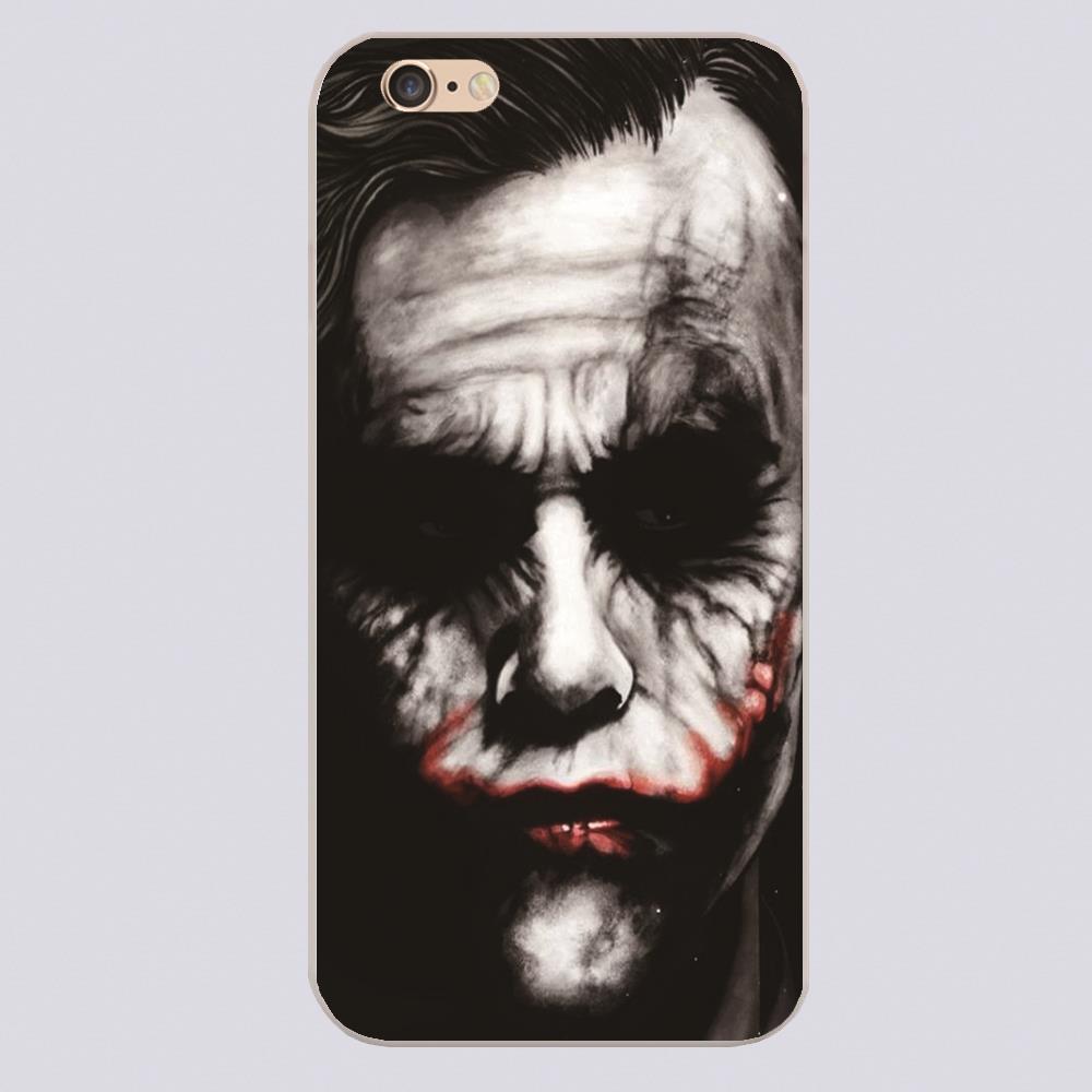 For marvel joker batman Design case cover cell phone cases for iphone 4 4s 5 5c 5s 6 6s 6plus hard shell