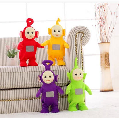 Free Shipping BBC teletubbies plush doll stuffed soft children's teletubby toy best gift for birthday(China (Mainland))