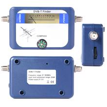 DVB-T satellite receiver Finder Meter LCD Display TV Signal Finder Aerial Terrestrial Signal Strength Meter BI018