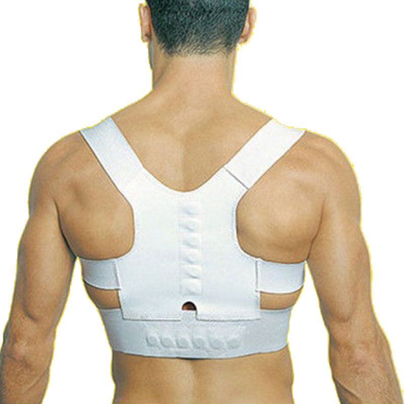 1 pcs Body Back Pain BulderMagnetic Posture Supportelt Brace Sho Corrector Free Shipping(China (Mainland))