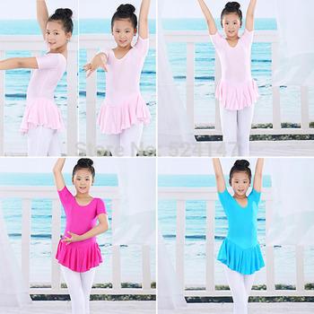 Hot Kid Toddler Girl 2-14Y Ballet Tutu Leotard Soft dresses Gymnastics Dance Dress