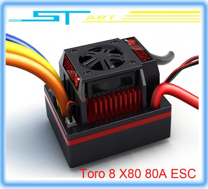 SKYRC Toro 8 X80 80A ESC Sensorless Brushless Motor 1/8 remote control car drift truck buggy low shipping f electric