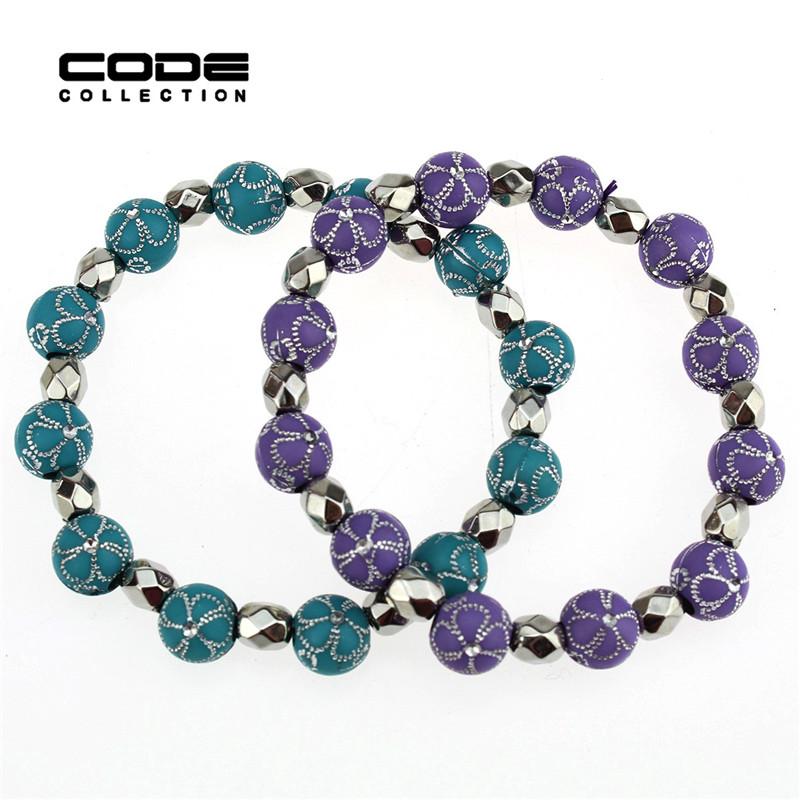 Stretch Bead Bracelet Ideas - Bangle And Bracelets