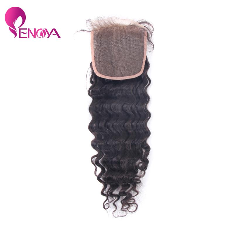 Peruvian Virgin Hair 4*3.5 Lace Closure Curly Weave Human Hair Closure<br><br>Aliexpress