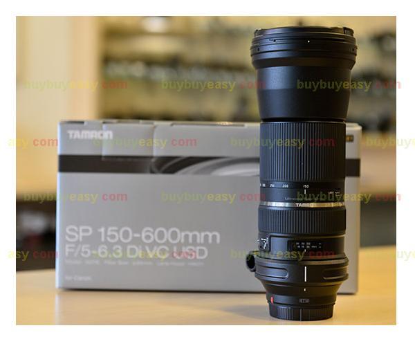 Genuine New Tamron SP 150-600mm f/5-6.3 Di VC USD Telephoto Zoom Lens For Canon<br><br>Aliexpress