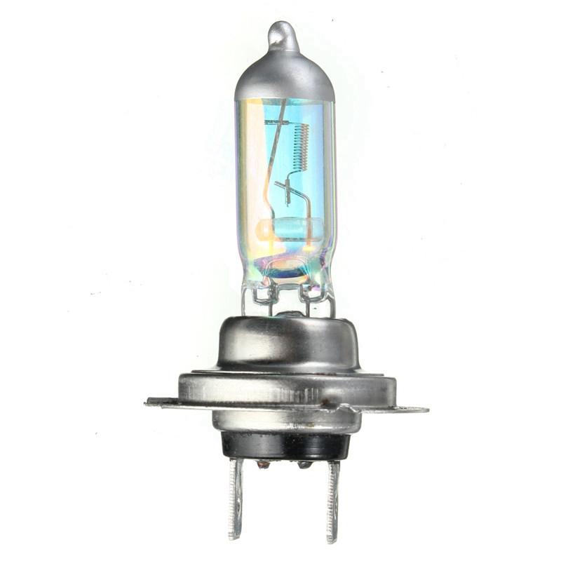 Best Promotion H7 55W Xenon Halogen Bulb Car Auto Headlight Light Lamp Bulb Rainbow Blue/Yellow/White DC12V