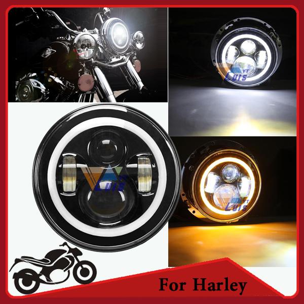 Фары для мотоциклов OEM 7 Daymaker 6500k Harley Davidson H4 13