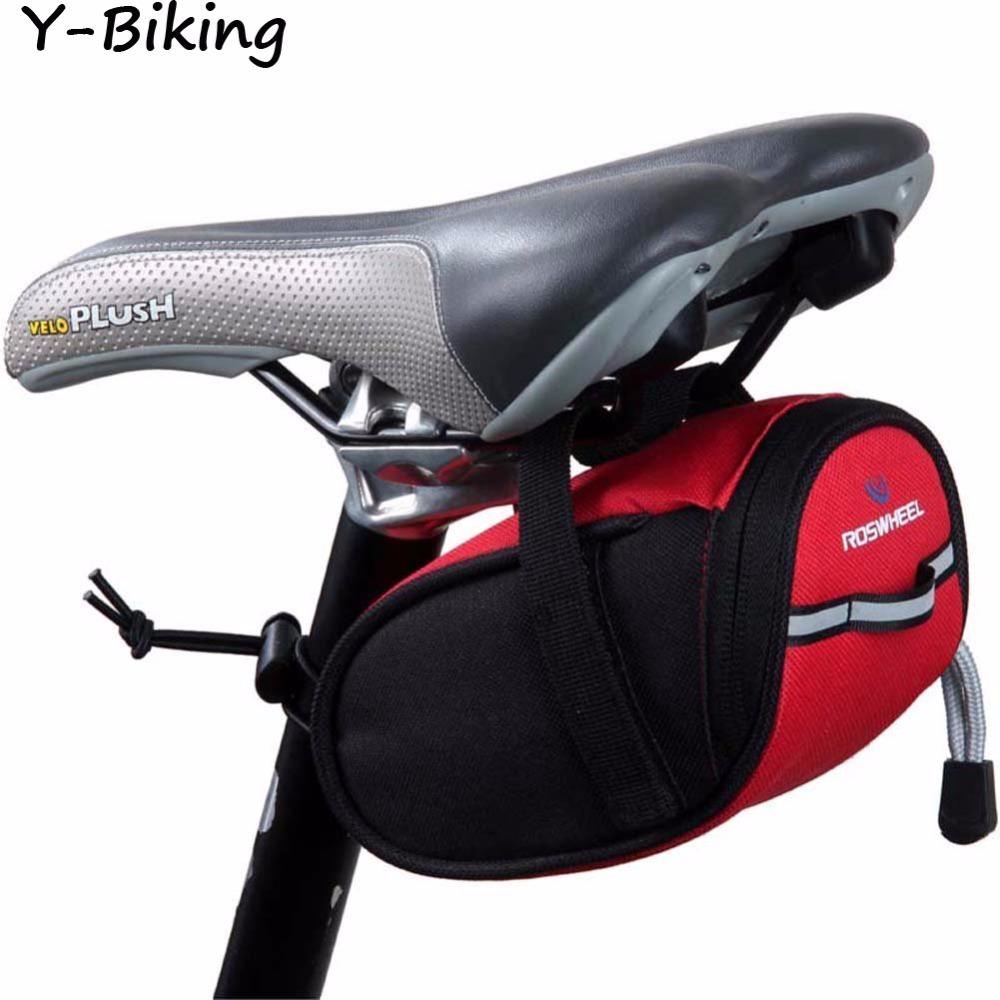 Mountain Road MTB Bike Bicycle Saddle Bag Tail Bag Bike Pouch Seat Outdoor Riding Cycling Bag YB-SHYQ-04(China (Mainland))