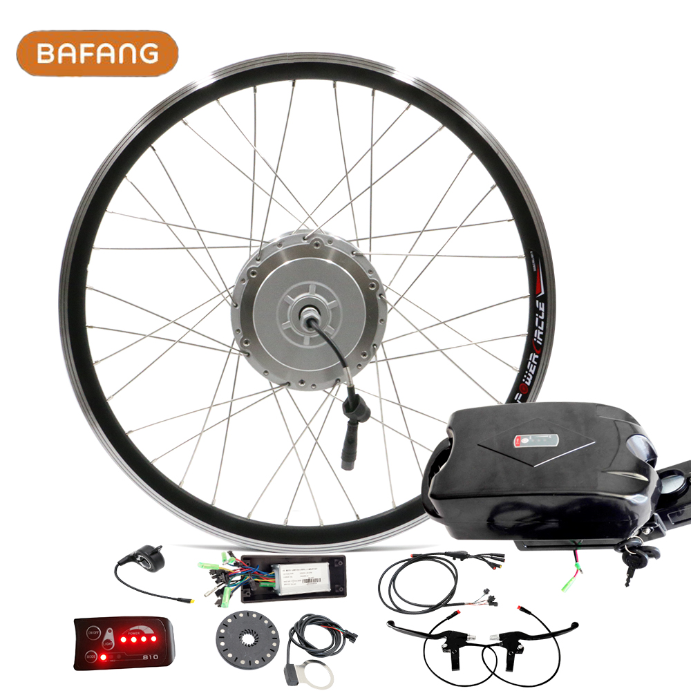 """26"""" 500W Bafang 8FUN Motor Powerful Electric Bike Conversion Kit with Lithium Ion Battery 12ah Ebike Accessories sets LED LCD(China (Mainland))"""