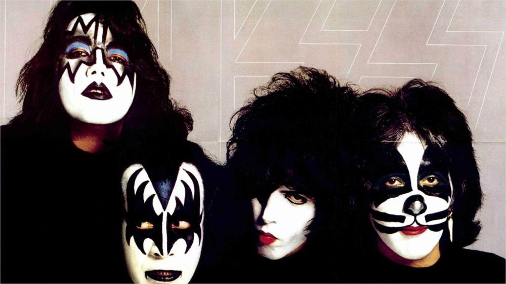 Music Kiss heavy metal rock bands 4 Sizes Home Decor Canvas Poster Print(China (Mainland))