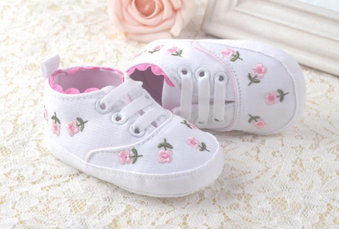 Non slip Baby shoes first walker baby girls Zapatos para bebe 3-18 month - Children New Starting Point Shoes Trading Co., Ltd. store