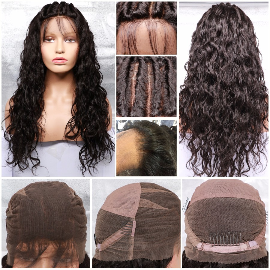 Full Lace Human Hair Wigs for Black Women Lace Front Human Hair Wigs with Baby Hair Human Hair Lace Front Wigs Black Women