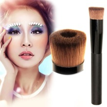 W7Tn# Hot Pro Face Concave Liquid Powder Foundation Brush Cosmetic Makeup Tool
