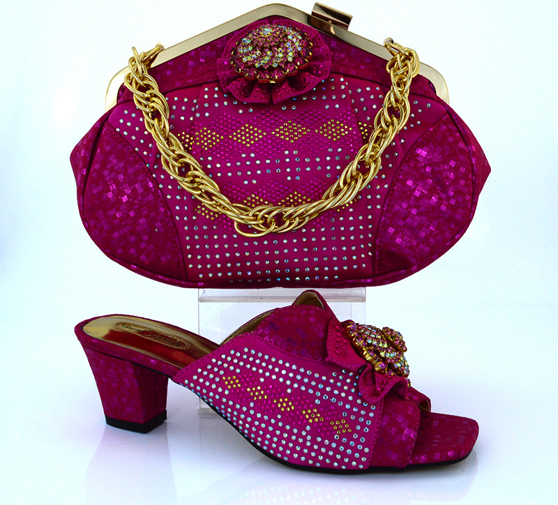 MM1011 New Arrival High Quality Italian Shoes And Bags To Match/Matching Italian Shoe And Bag Sets For Women Dresses