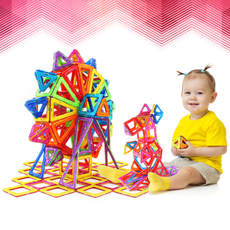78PCS Mini Magnetic Designer Construction Enlighten Assembly Building Blocks Toys Kids Educational Toys Plastic Creative Bricks(China (Mainland))