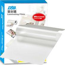 "DSB Clear Thermal Laminating Film, 7"", 80mic, 100 Pcs, Photo files Lamination, Office & School & Home Supplies(China (Mainland))"