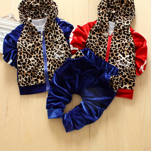 Free shipping children 39 s clothing baby kids velvet for Leopard print shirts for toddlers