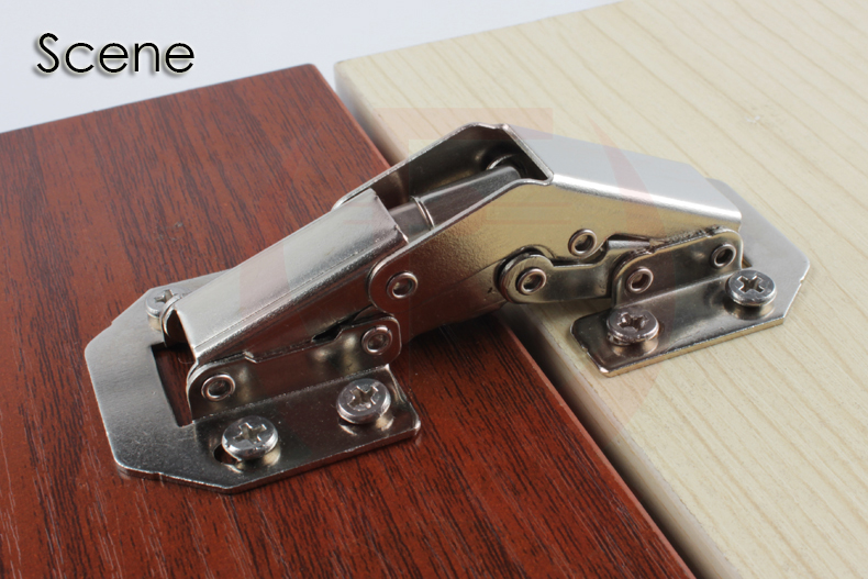 "90 Degree 3"" Length Bridge Style 90 Angle Degree Opening Concealed Hinges NED-A99(China (Mainland))"