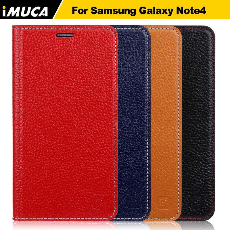 Phone Cover for Samsung Galaxy NOTE 4 Luxury and Fashion Flip Leather Wallet Stand Cell Phone Case & Mobile Phone Accessories(China (Mainland))