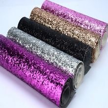 eco-friendly chunky glitter fabric colorful glitter border use for cushions,pelmets,pillow decoration,glitter wallpaper(China (Mainland))