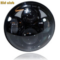 Headlight For Harley Davidson 883 5 3 4 5 75 Inch Motorcycle Daymaker Black Projector DRL