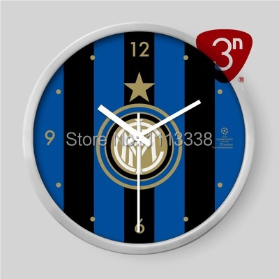 Hot Sale Inter milan Wall Clock Football Fan Souvenirs Size 12 Inch(China (Mainland))
