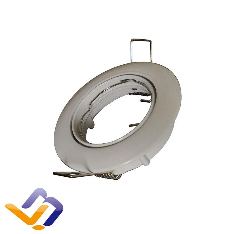 Buy two lots get 10 pcs lamps for Gift Free shipping 10pcs ceiling spot light aluminium body double ring GU10/MR16 lamp socket(China (Mainland))