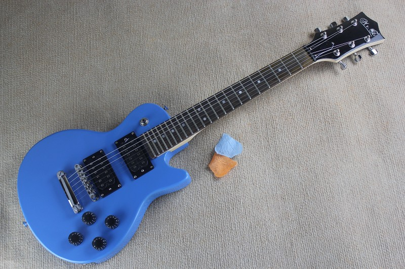 Top quality popular styles Musical instruments Wholesale blue Electric Guitar kids guitar(China (Mainland))