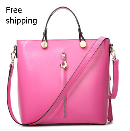 New arrivals 2015 Women's Handbag Fashion OL Shoulder Tote Handbags of Famous Leather Messenger Bag Free shipping 02(China (Mainland))