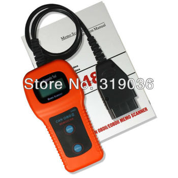 U480 Any Car Universal OBD2 EOBD Can Bus Fault Code Reader Scanner CD Software With Over 7000 DTC  Finder 160 Common