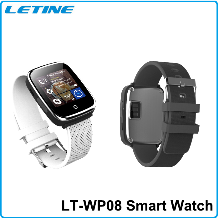 2015 New WP08 Bluetooth Smart Watch WristWatch Sport Pedometer SIM Card Smartwatch for IOS and Android Smartphone With SIM<br><br>Aliexpress