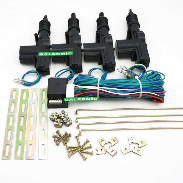 Manual central door lock system can fit on any car direct gun type actuator together with 1 master motor &3 slave motor complete