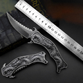 vintage case Folding Knife Pocket Knife Outdoors Camping EDC Rescue Tools Tactical Hunting Knife