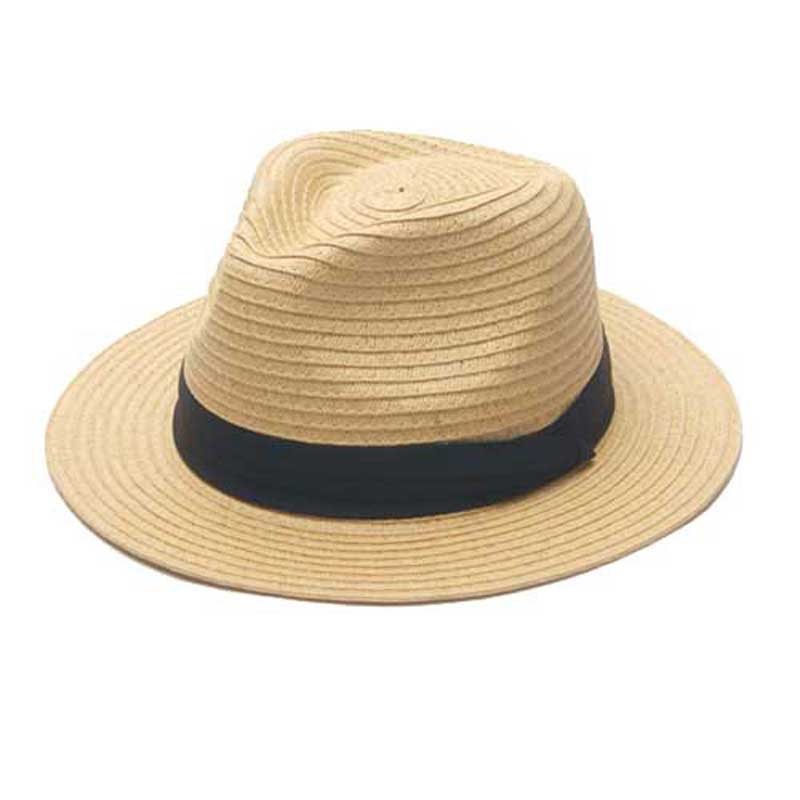 8pcs/Lot Quality Solid Color Paper Straw Fedora Hats for Men Black Straw Caps With Ribbon Ladies Summer Fedoras Caps Wholesale(China (Mainland))