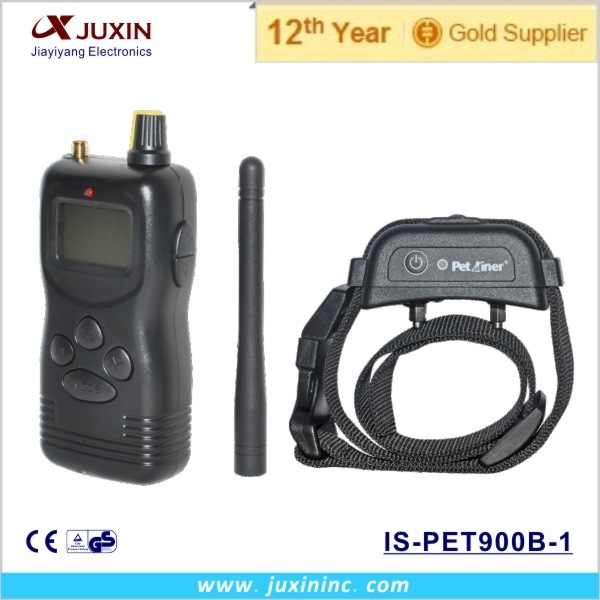 Free shipping Newest design Waterproof and rechargeable 1000M Dog training electronic collar(China (Mainland))