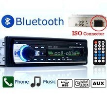 Autoradio Car Radio JSD-520 12V Bluetooth V2.0 Car Audio Stereo In-dash 1 Din FM Aux Input Receiver SD USB MP3 MMC WMA JSD 520(China (Mainland))
