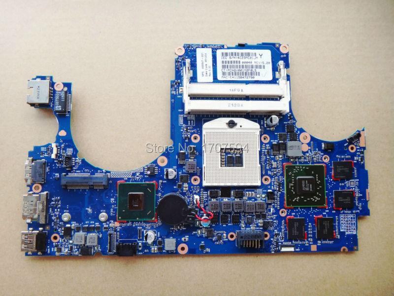 for hp 668847-001 motherboard  for ENVY 15 motherboard DDR3 Non-Integrated Series 668847-001 Laptop Motherboard all fully tested